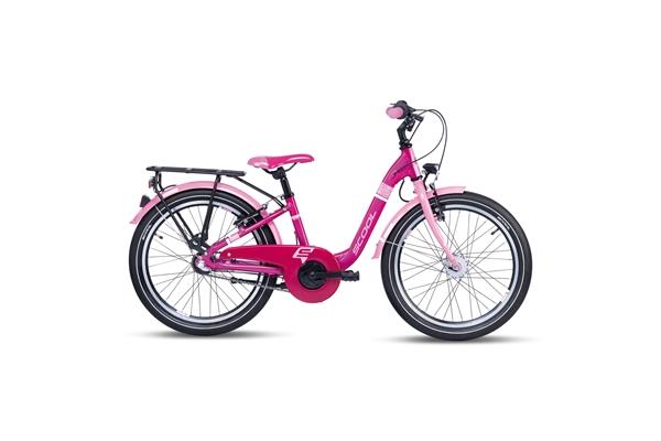 S´COOL chiX 20 Aluminium 3-Gang pink