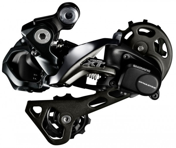 Shimano Deore XT Di2 M8050 GS Rear Derailleur 11 speed - medium - black