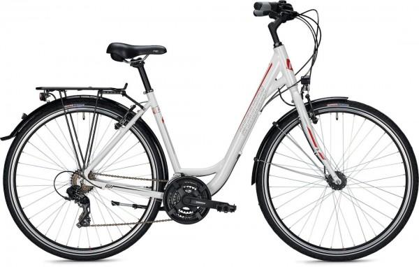 "Morrison Trekkingbike T 1.0 Wave Damen 28"" glänzend weiß 54cm"