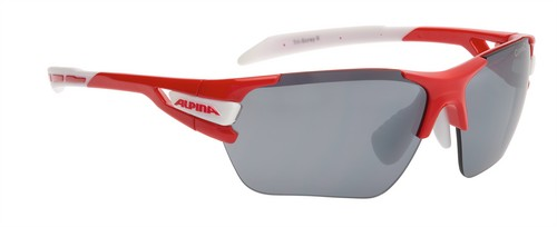 Alpina Tri-Scray S Glasses red-white