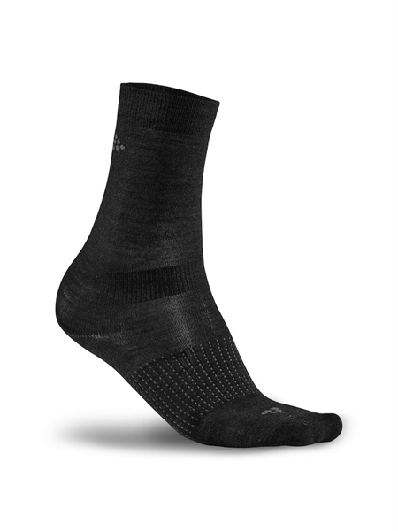 Craft 2-Pack Wool Liner Sock black