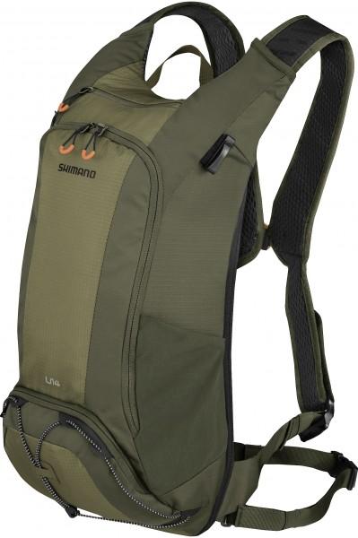 Shimano Unzen Trail Backpack 14L hydration olive green
