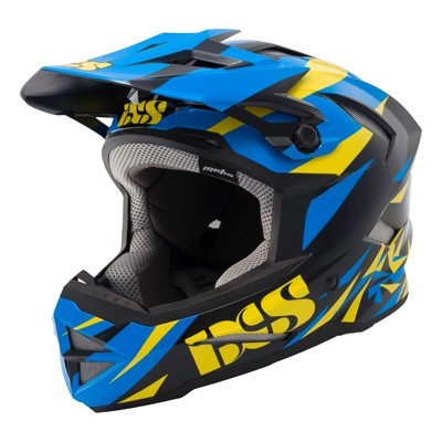 IXS Metis Moss Helmet blue/black