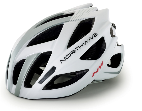 Northwave Aircrosser Helm white/silver/black