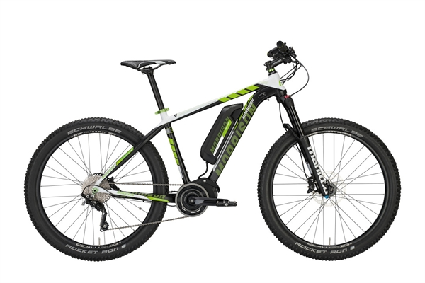 Morrison E-Bike Mohawk 27.5+ black/white