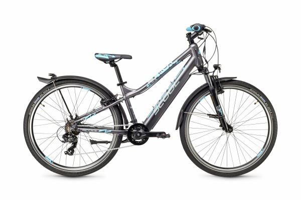 S´COOL e-troX 26 Aluminium 7-speed darkgrey