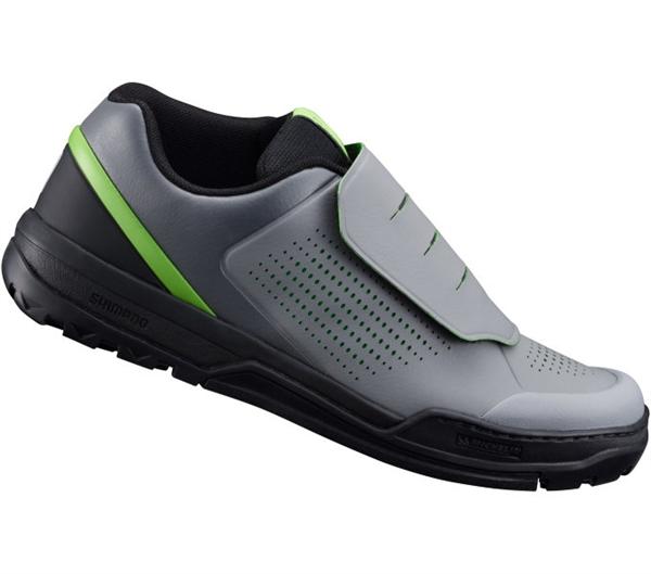 Shimano SH-GR9 Flatpedal Shoe grey green