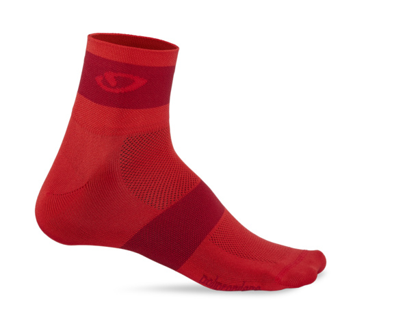 Giro Comp Racer Socken bright red