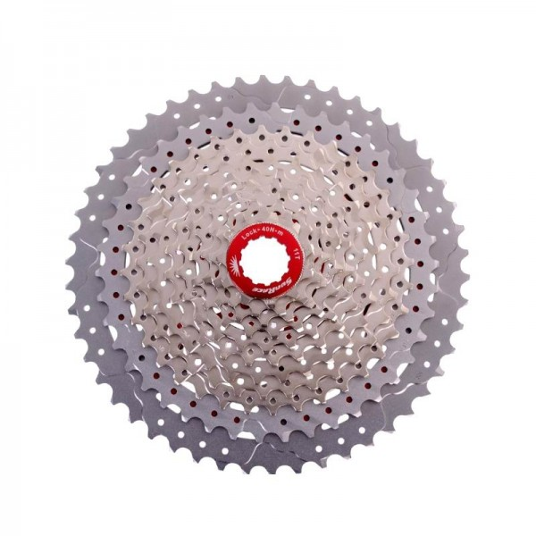 Sunrace Cassette CS MX80 11-speed 11-50 silver-metallic