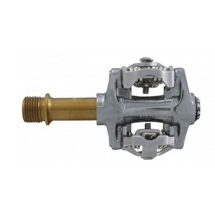 Exustar E-PM-215-Ti MTB Pedale Silber/Gold