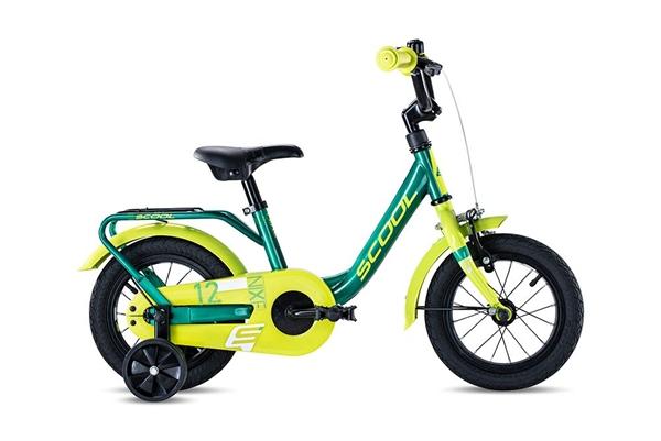 S´COOL niXe 12 Stahl 1-Gang green/lemon