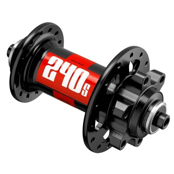 DT 240s IS disc Front Hub 6-Bolt black