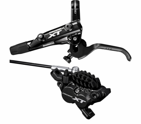 Shimano Deore XT Disc Brakes BR-M8020 AM front with cooling fins black