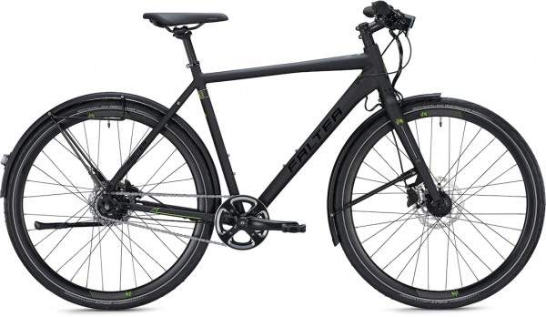 "Falter City / Urbanbike U 6.0 Men M (50) 28 ""Matt black"