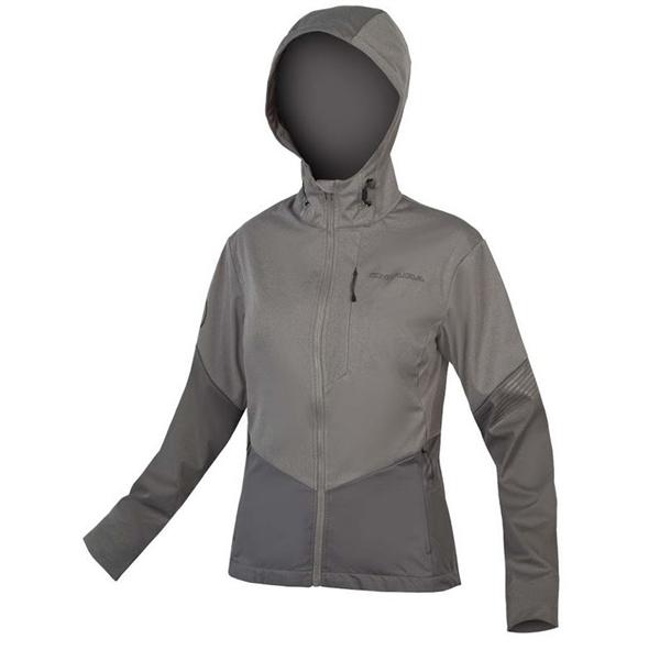 Endura WMS Singletrack Softshell II Jacket Women pewter grey