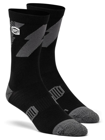 100% Bolt Performance socks schwarz