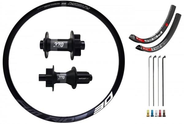 "DT Swiss 370 Boost Disc IS Custom Wheelset MTB 27,5"""