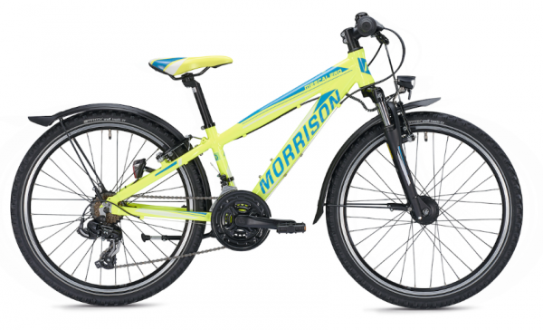 Morrison Mescalero S24 24 inch Diamant yellow/blue Kids Bike