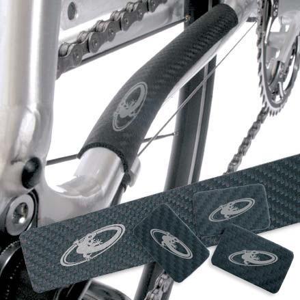 Lizard Skin Carbon Leder - Kettenstrebenschutz
