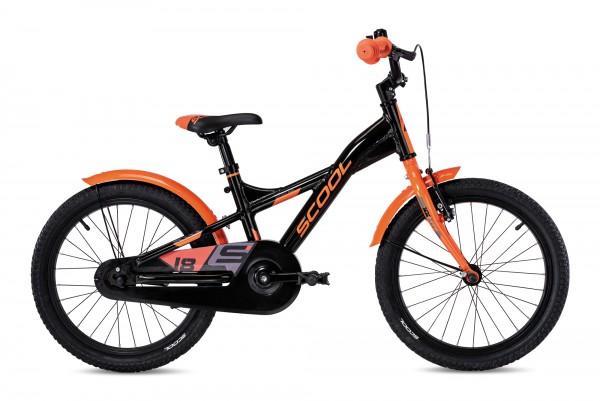 S´COOL XXlite 18 Aluminium 1-Gang black/orange