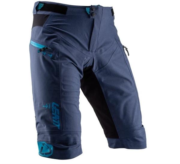 Leatt DBX 5.0 Shorts All Mountain wasserdicht Blue ink