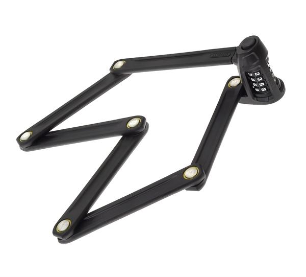 Abus Foldable Lock Bordo Combo Lite 6150 black 85 cm