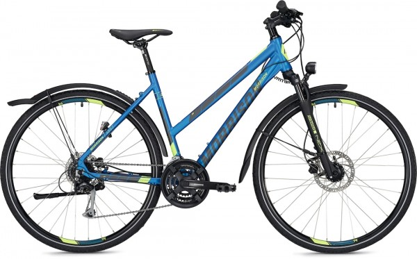 "Morrison Crossbike X 2.0 Damen 28"" Matt Blue"