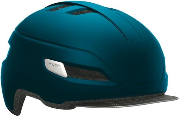 Met Corso helmet petroleum blue