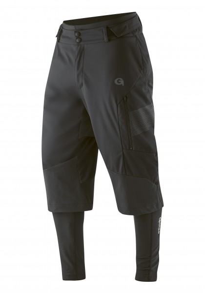 Gonso Sirac 3-in-1 Softshell Hose black