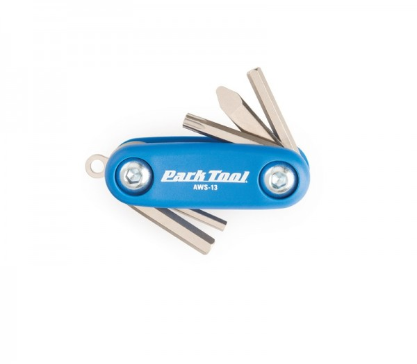 Park Tool AWS-13 Micro Fold Up Hex Wrench Set
