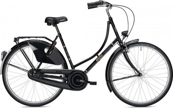 "Falter Classic Bike H 3.0 S (45) 26"" Schwarz Glänzend"