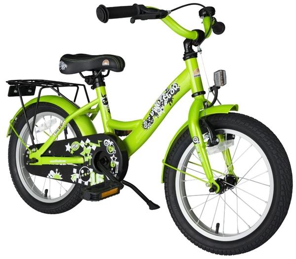 Bikestar Premium Kinderfahrrad Classic 16 Zoll brilliant grün