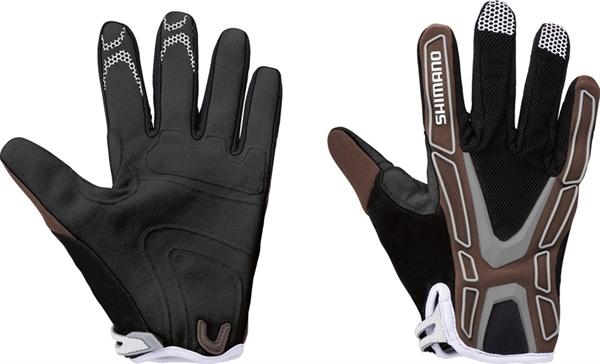 Shimano Team Gloves wallnuss %