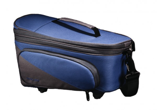 Racktime luggage carrier Talis Plus trunk bag berry blue / stone grey