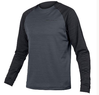 Endura Singletrack Fleece Jersey black