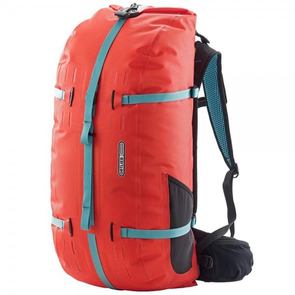 Ortlieb Atrack waterproof backpack 45L signal red