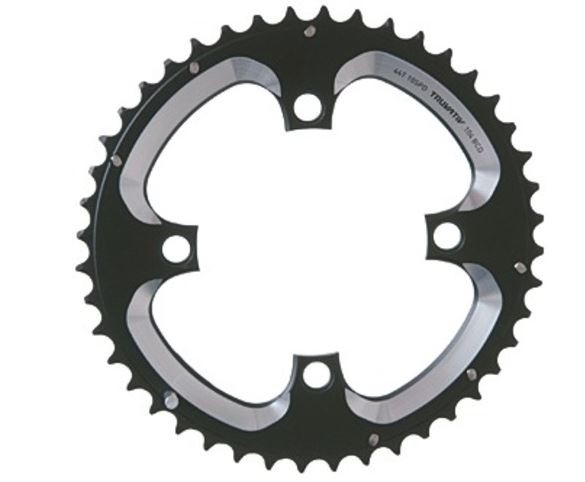 Truvativ chainring MTB 10-speed 44 teeth, black