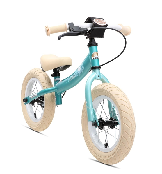 Bikestar Sicherheits-Kinderlaufrad Sport 12 Zoll türkis bird