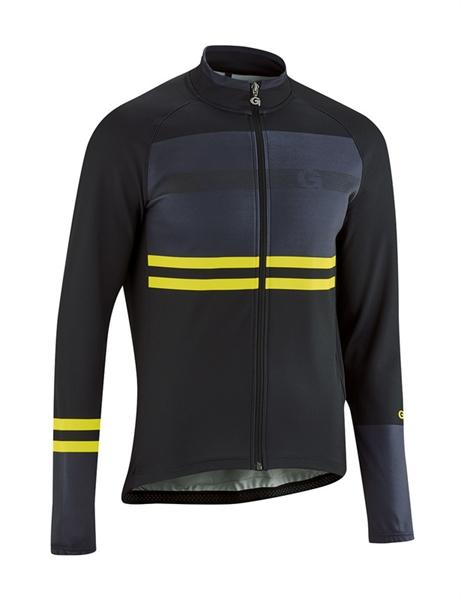 Gonso Tux Men's Long Cycling Jersey Full Zip black