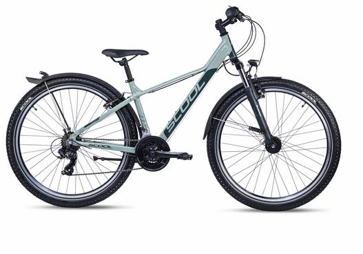 S´COOL troX 27,5 EVO Aluminium 21-Gang green/green