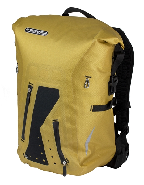 Ortlieb Packman Pro Two backpack mustard 25L