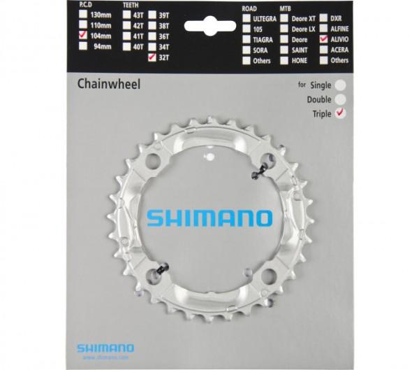 Shimano Alivio FC-M430 32 Zähne Kettenblatt silber