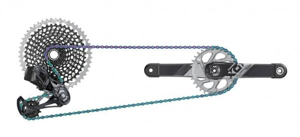 SRAM X01 Eagel AXS 175mm Complete-Set