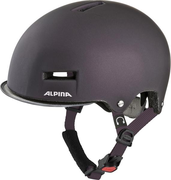 Alpina Grunerlokka Helmet nightshade