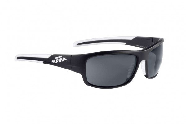 Alpina Brille Testido P black matt- white