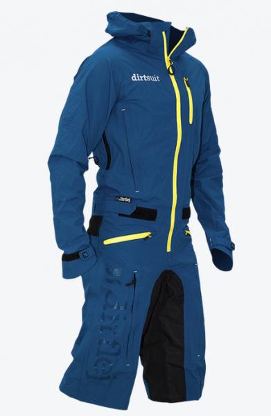 Dirtlej Dirtsuit Classic Edition blau grün/gelb