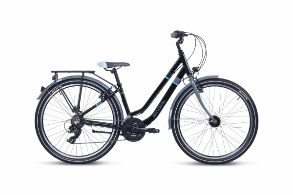 S´COOL chiX twin 26 Aluminium 21-Gang black/blue