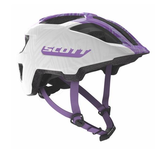 Scott Spunto Junior Helmet white/purple