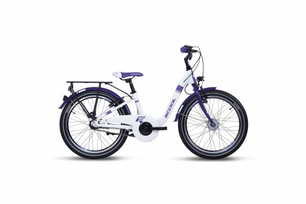 S´COOL chiX 20 alloy 3-speed white/violet