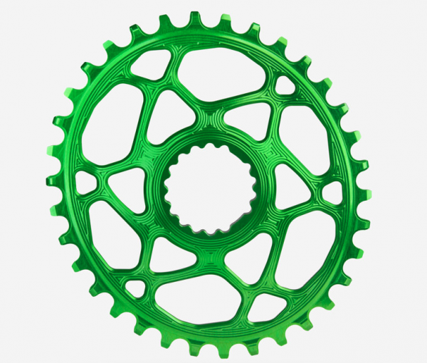 absoluteBlack Chainring Oval MTB Cannondale